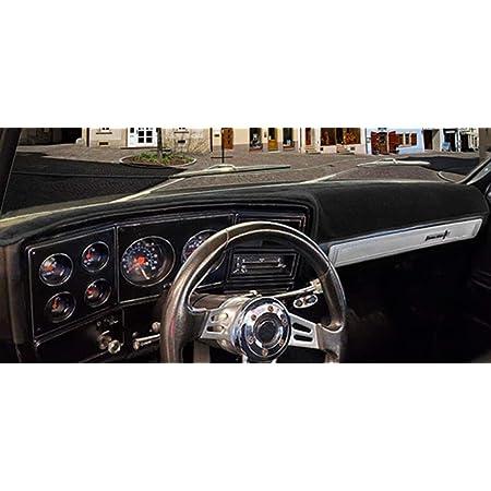 Custom Carpet, Black Fits 1970-1972 Seat Covers Unlimited Chevy El Camino Dash Cover Mat Pad