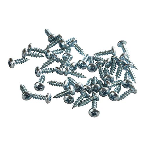 Rok Hardware Pack Of 100 Zinc-Plated Screws