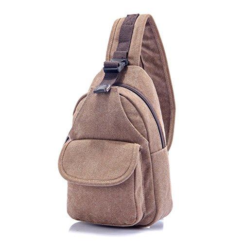 Sincere® sac de poitrine / Messenger hommes sac / sac femmes de la poitrine / Tote-3 carré