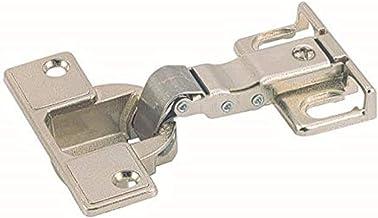 Hettich 9219577 scharnier voor koelkastombouwingen (scharnier) -voor deurdiktes vanaf 16-22 mm automatisch scharnier, 2 st...