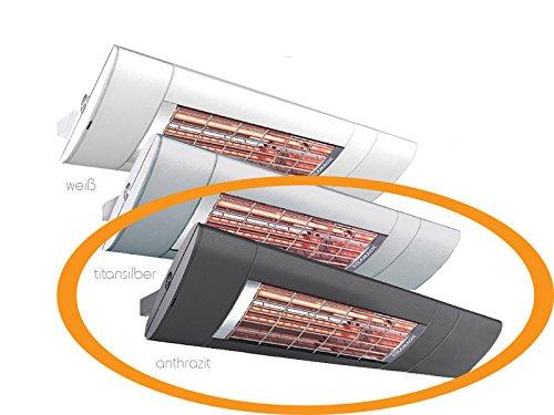 Solamagic Infrarotstrahler S1 - Premium, 2000 Watt, mit Ein- / Ausschalter, Farbe: anthrazit