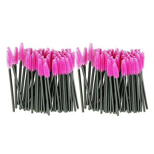 Ouneed® Lot 100pcs Brosse Jetable Clis Mascara Disposable Eyelash Brush