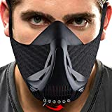 KENGEL Sport Mask Workout - for Running Biking Training and Fitness, Achieve High Altitude Elevation Effects with 6 Level Air Flow Regulator [Peak Resistance]