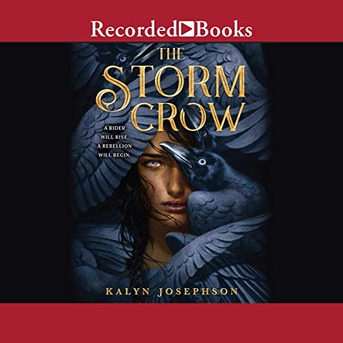 The Storm Crow audiobook cover art