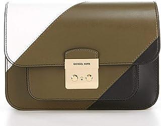 MICHAEL Michael Kors Sloan Editor Colorblock Stripe Large Shoulder Bag
