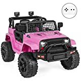 Best Choice Products 12V Kids Ride On Truck Car w/Parent Remote Control, Spring Suspension, LED...