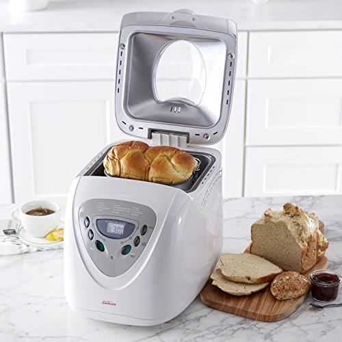 Sunbeam Programmable Bread Machine, White