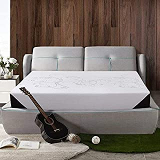 Memory Foam Mattress King Size 8 Inch Air Gel Memory Foam Bed Mattress Sleep Comfortable 10