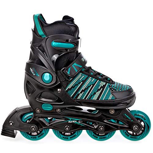 RAVEN Inline Skates Inliner Vella verstellbar 40-43 (25cm-27,5cm)