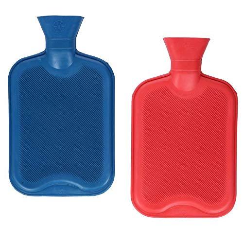 Bouillotte 2 l en caoutchouc xL bettwärmer bettflasche wärm flacon gummiwärmflasche 6 couleurs