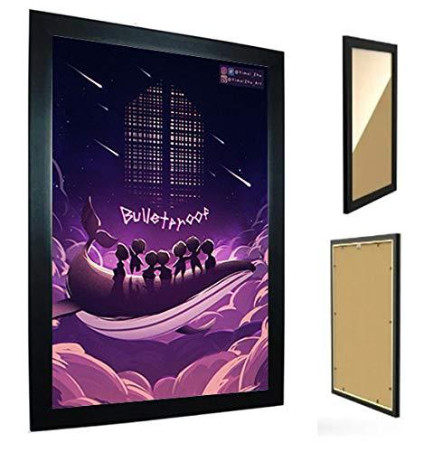 Quadro Decorativo - BTS Bangtan Boys - C/Moldura - M87