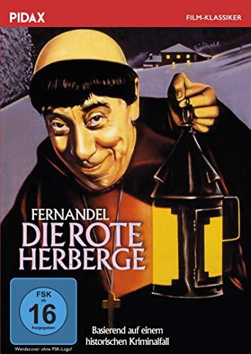 Die rote Herberge / Verfilmung eines wahren Kriminalfalls mit dem großartigen Fernandel (bekannt als DON CAMILLO) (Pidax Film-Klassiker)