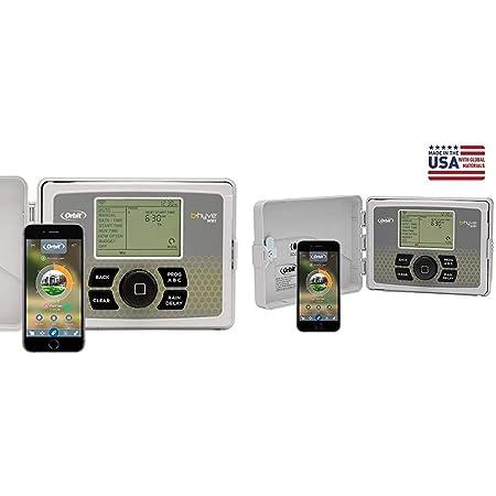 Orbit 57946 B-hyve Smart Indoor//Outdoor 6-Station WiFi Sprinkler System Controll