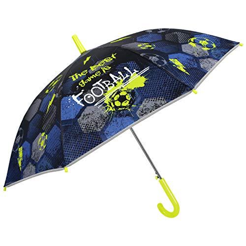 Parapluie Réfléchissant Foot Enfant Garçon 5/8 Ans - Paraplu
