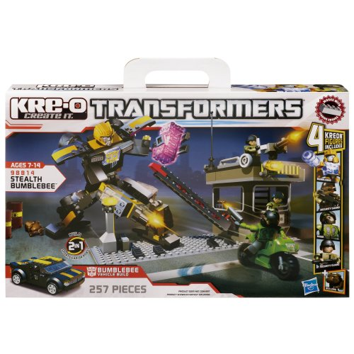 KRE-O Transformers Stealth Bumblebee Set (98814) by KRE-O