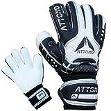 ATTONO Torwarthandschuhe Power Block V01 Fingersave Torwart Handschuhe Größe 8
