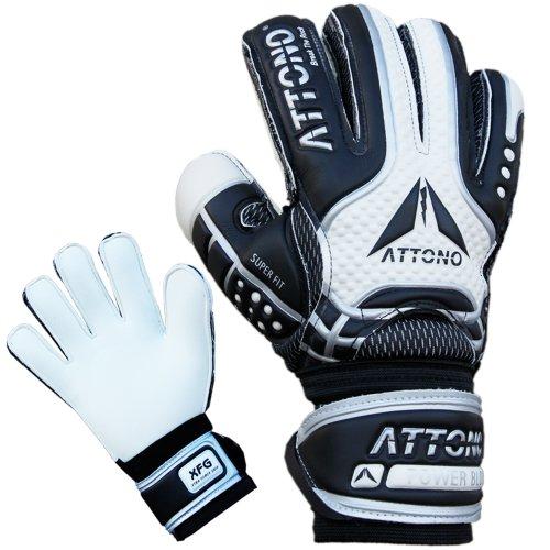 Attono® Power Block V01 - Guanti da portiere con protezione per dita, taglie 3-11, 9