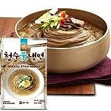 [1601] 清水 冷麺 セット スープ付き チョンス 水冷麺 720g (麺560g/濃縮スープ40g×4袋) 韓国産 [並行輸入品]