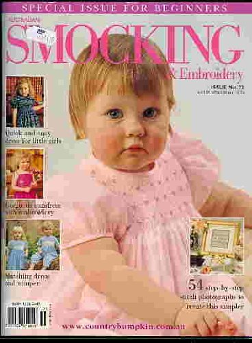 Best Deals! Australian Smocking and Embroidery Issue No 73