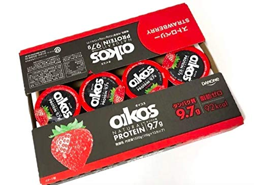 ANONE(ダノン)『oikos(オイコス) 脂肪ゼロ ストロベリー』