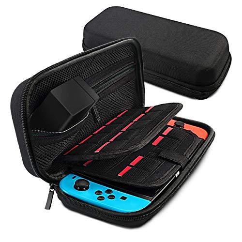 Topsale-ycld Custodia Protettiva Borsa Tote Custodia Eva per Nintendo Switch Game Machine (Color : Black)