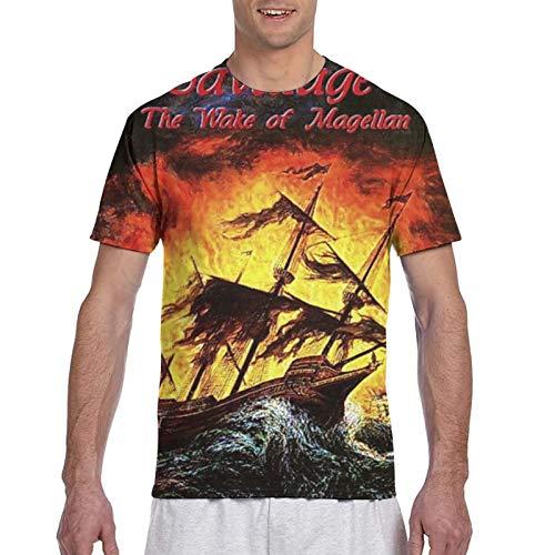 Savatage The Wake of Magellan Herren 3D Print Tee T-Shirt M