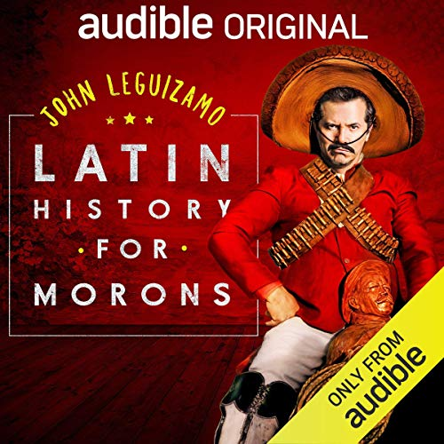 Latin History for Morons audiobook cover art
