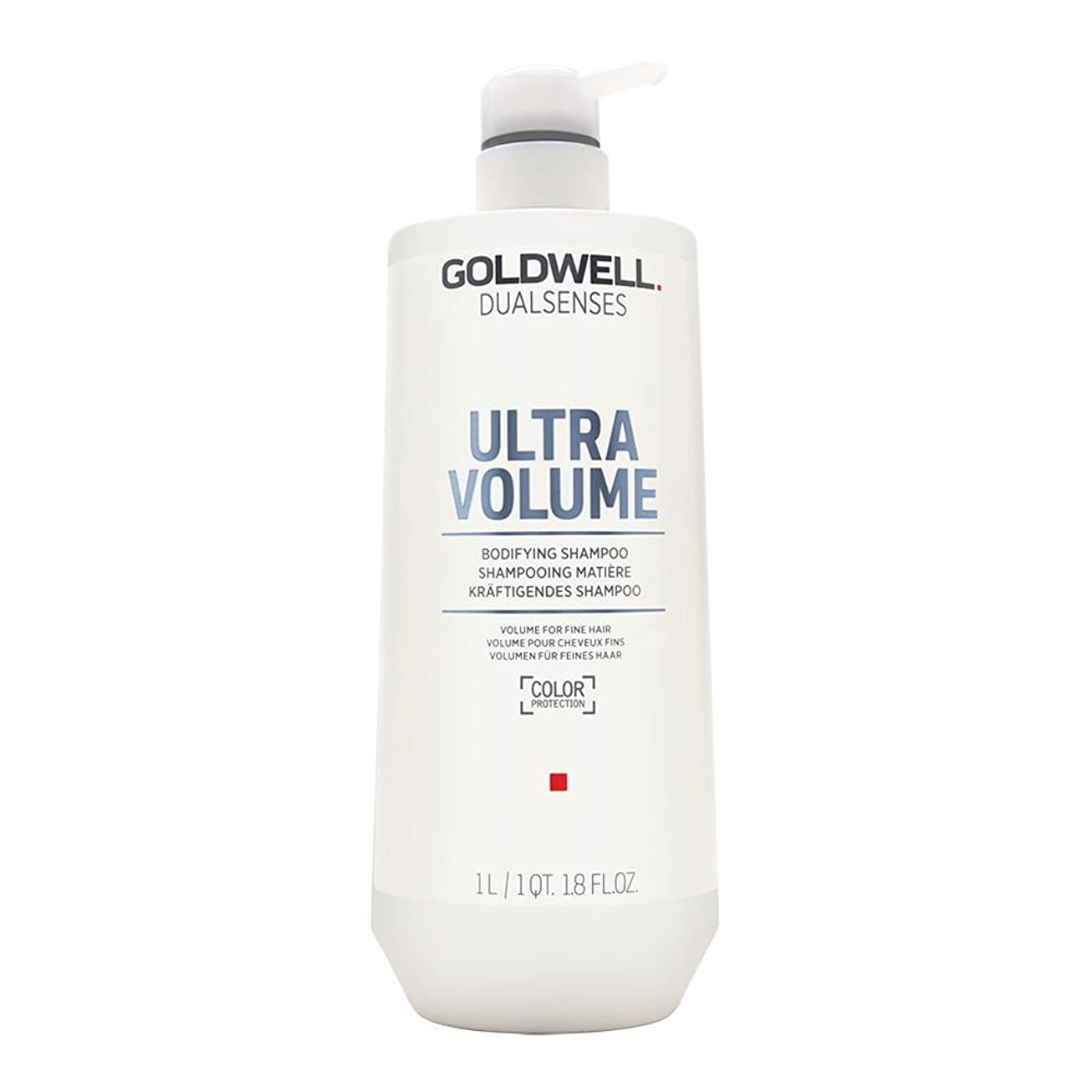 揃えるしっかりましいゴールドウェル Dual Senses Ultra Volume Bodifying Shampoo (Volume For Fine Hair) 1000ml
