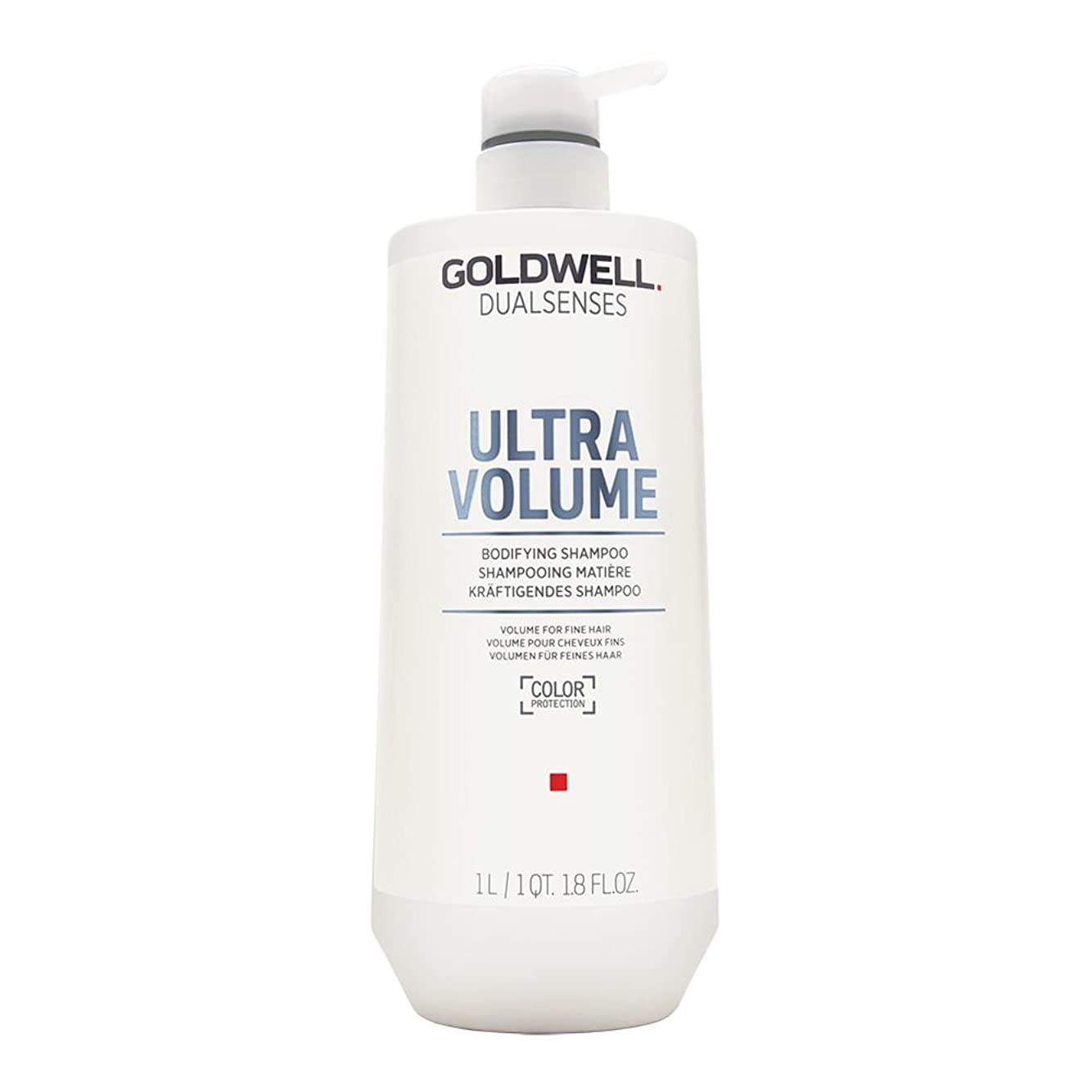 弁護士加害者シャットゴールドウェル Dual Senses Ultra Volume Bodifying Shampoo (Volume For Fine Hair) 1000ml