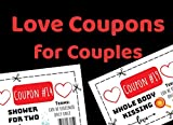 Love Coupons for Couples: Valentine's Day Gifts for Her and for Him |...
