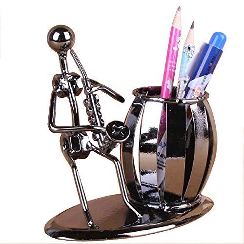 Modischer Stiftehalter, nützlicher Organizer für die Aufbewahrung von Schreibwaren, für Büro, Musikzimmer, als Dekoration oder Geschenk Saxophone