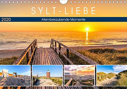 SYLT-LIEBE Atemberaubende Momente (Wandkalender 2020 DIN A4 quer): Die schönsten Inselblicke im Licht der Sonne (Monatskalender, 14 Seiten ) (CALVENDO Natur)
