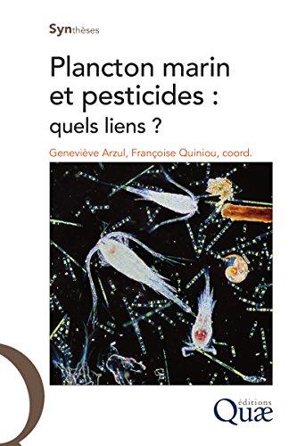 Plancton marin et pesticides: Quels liens ? (Synthèses) (French Edition)