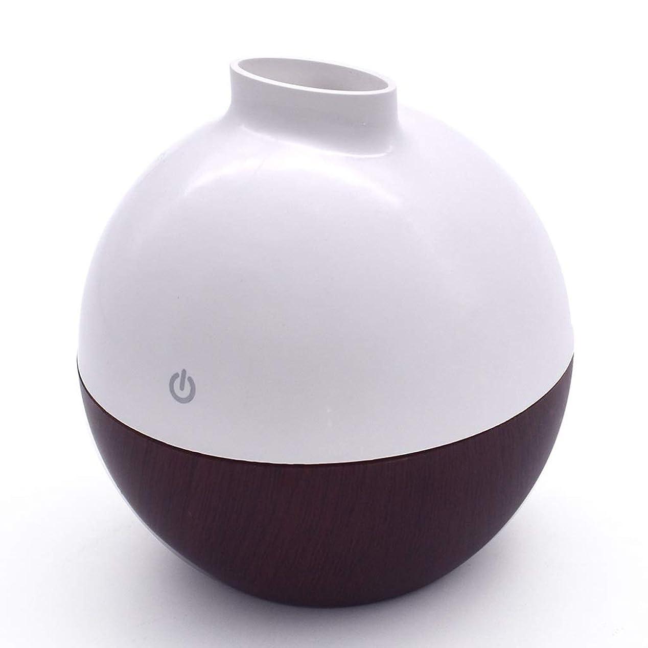 排気隔離する再びリードディフューザー 家庭用アロマ機ミニ家庭用加湿器噴霧ディフューザーミニ木目アロマ機加湿器サイレント拡散アロママシン YHDD (Color : C)