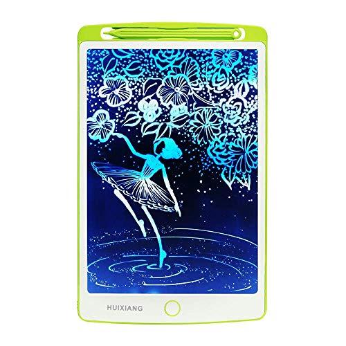 HUIXIANG - Tablet de Escritura LCD de 10 Pulgadas con pizarras Digitales eWriters Writing Tablet de Dibujo electrónico para niños, niñas, niñas, diseño de Estudio,Blanco