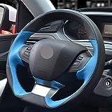 YHDNCG Coprivolante per Auto, per Peugeot 208 2012-2018 2008 2013-2018 308 308sw 2014-2018