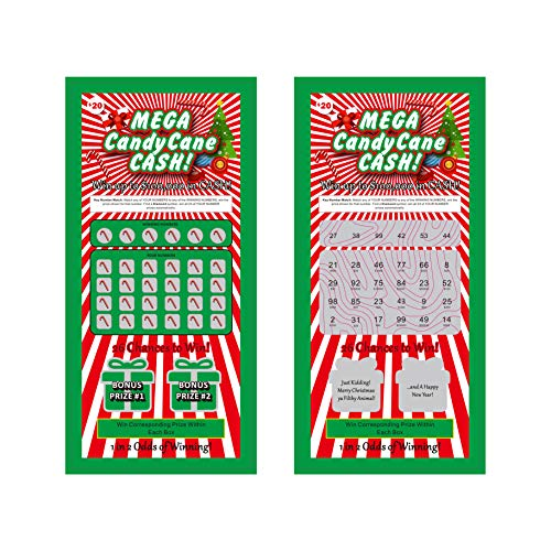 OBRC - Best Stocking Stuffers of 2020! Prank Christmas Lottery Tickets. Great Gag Gift for all Ages:...