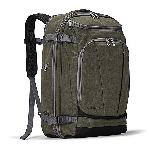 eBags TLS Mother Lode Weekender Convertible Carry-On Travel Backpack - Fits 19 Inch Laptop - (Sage Green)