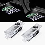 Car Door LED Lights Projector Logo for Land Rover Range Rover 2010-2015 Shadow Ghost Puddle Light Compatible Lamp Accessories 2pcs