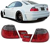 Carparts-Online 12066 LED Rückleuchten rot schwarz Facelift Optik