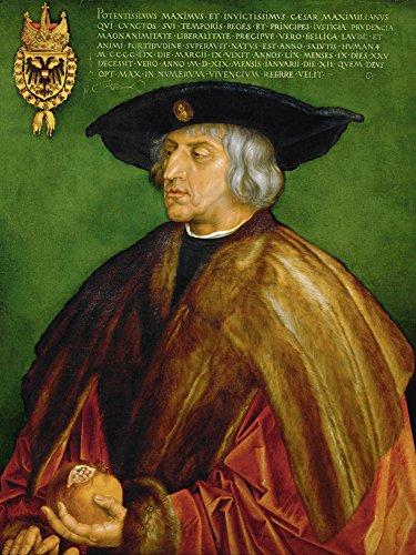 Artland Alte Meister Kunst Bild Renaissance Albrecht Dürer Wandbilder Kaiser Maximilian 80 x 60 cm...