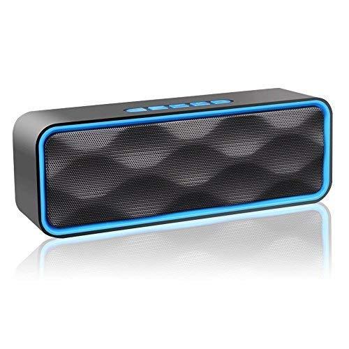 Aigoss Altavoz Bluetooth Portátil Inalámbrico Estereo