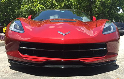 Performance Corvettes Corvette C7 Z06 Stingray Stage 1 Aero Spoiler Splitter Painted Carbon Flash Metallic