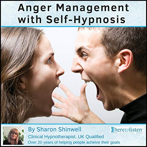 Anger Management with Self-Hypnosis audiobook cover art