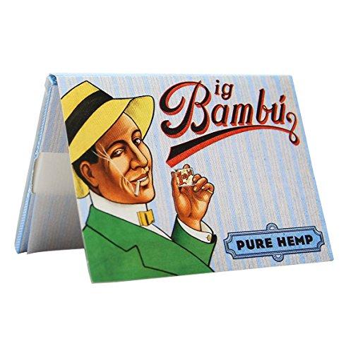 Bambu - Big Bambu Pure Hemp Rolling Paper (3 Booklets)