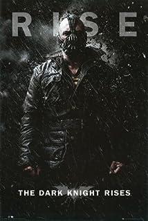 Dark Knight Rises Poster Villain - Batman Rare HOT New 24x36