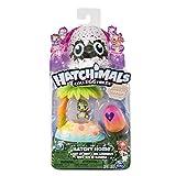 Hatchimals Colleggtibles — Breezy Beach Hatchy Maison Nest Lumineuse avec Exclusive Season 4 Colleggtible, pour 5Ans et Plus