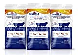 JustiFLY Champion USA Feedthrough Cattle Fly Control   Non-Toxic Larvicide. Controls All Four Fly Species That Affect Cattle. Over 50 Million Head Treated (3 Pack)
