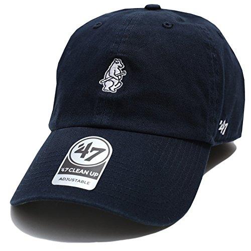 【BCPTN-BSRNR05GWS-NY14】 フォーティーセブンブランド 47BRAND ローキャップ CAP 帽子 MLB メジャーリーグ シカゴ カブス 正規品 (01)紺 Fサイズ