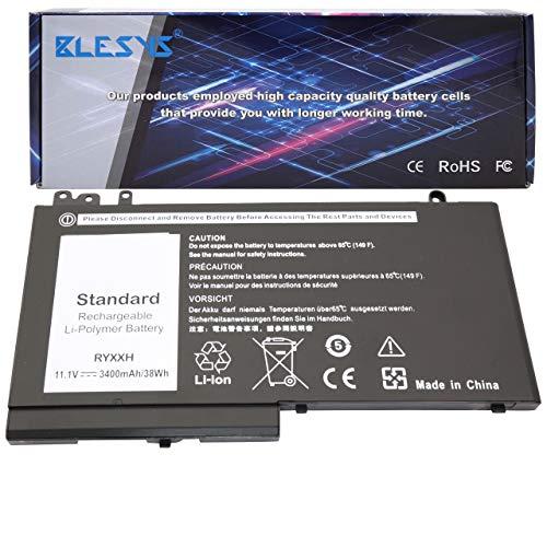 BLESYS 11.1V/38Wh batería RYXXH Compatible con la batería del portátil para DELL Latitude 3160 E5450 E5550 E5250 baterías de portátiles